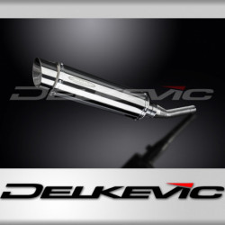 YAMAHA YP250R X-MAX 06-16 Wydech stalowy Delkevic SL10 350mm